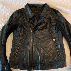 June genuine leather jacket
